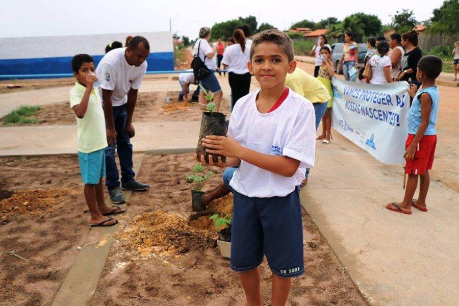 """Para o estudante Hélio dos Santos, o Educa Sanear é """"muito educativo e muito interessante"""""""