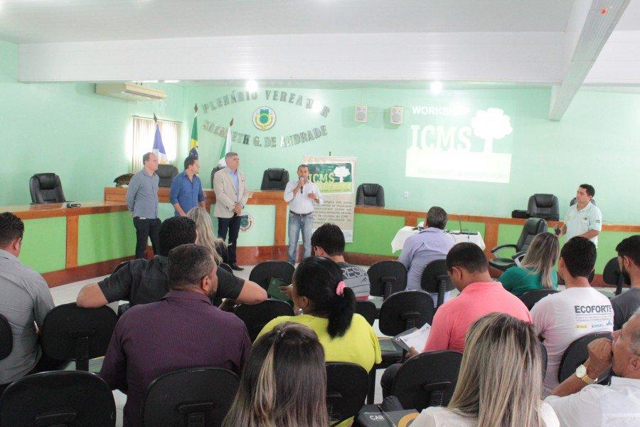 Workshop ICMS Ecológico em Araguatins