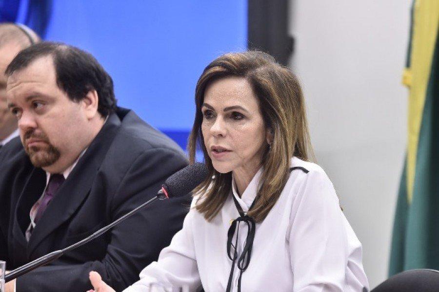 Deputada federal Professora Dorinha