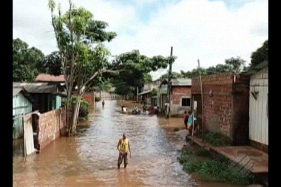 Em Parauapebas, nível do rio baixou
