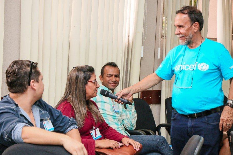 Ananás e Augustinópolis participam de Oficina do Selo Unicef em Palmas (Foto: Carlesandro Souza)