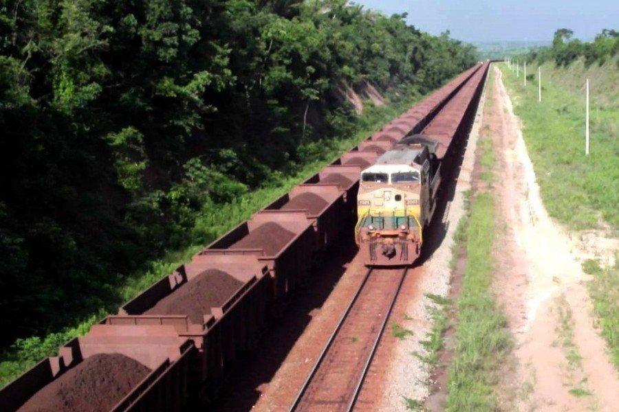 Ferrovia de Carajás (Foto: Agência Pará)