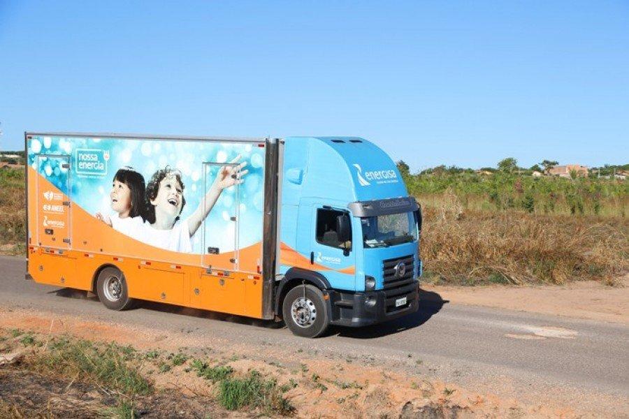 O caminhão do projeto Nossa Energia chega a Paraíso nesta terça-feira,14/8, e segue com programação até o dia 16/8