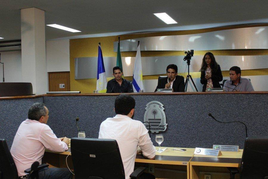Sessão da Comissão Parlamentar de Inquérito do Instituto de Previdência Social de Palmas