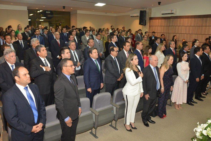 Deputados eleitos participam de cerimônia de diplomação no TRE-TO (Ascom TRE/TO / Dicom ALTO)