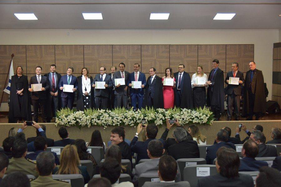 Diplomação dos deputados federais eleitos (Foto: Lucas Nascimento)