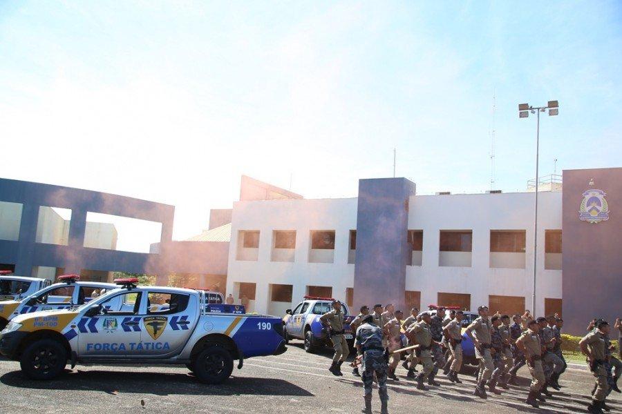 Em Palmas, PM formou 24 alunos na XII turma de Força Tática
