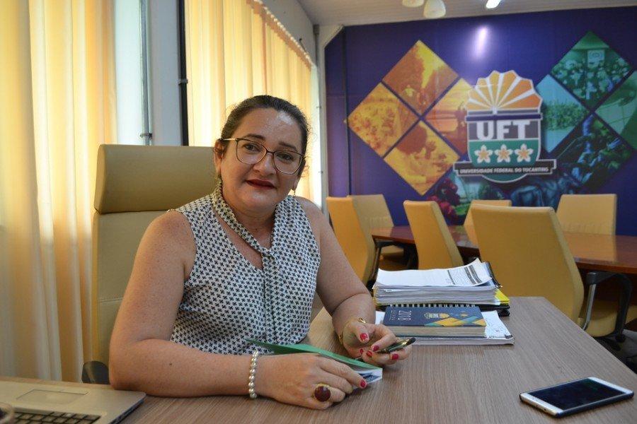 Vice-reitora explica que frustração dos alunos sensibilizou a Universidade (Foto: Daniel dos Santos)