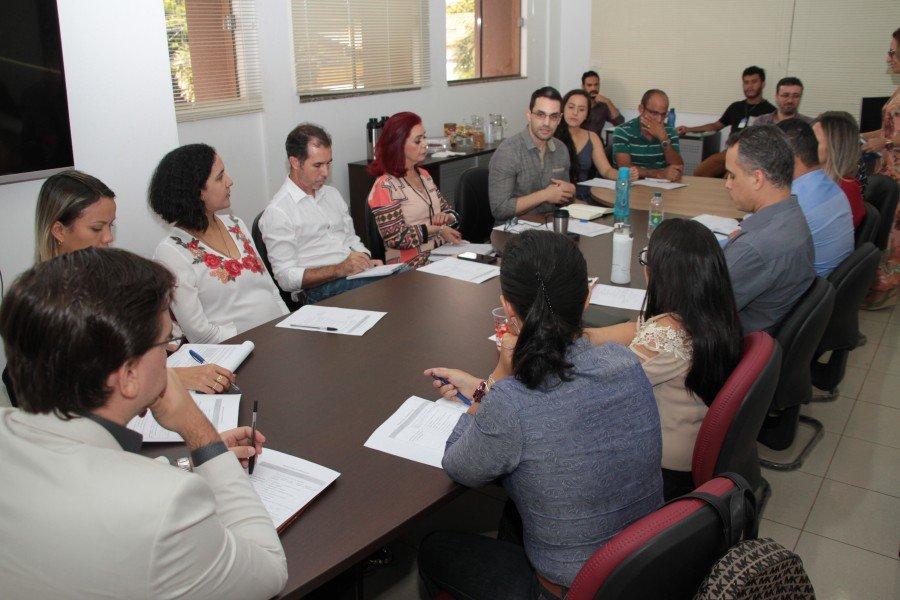 Equipe da Prograd recebeu os coordenadores de todos os cursos de graduação