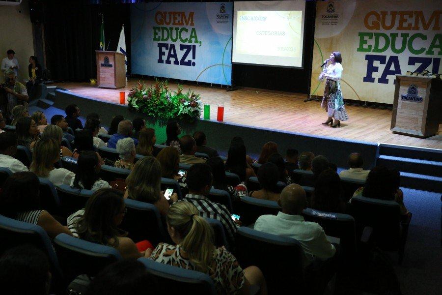 Educadores do Bico do Papagaio e das demais regiões do estado, terão até 15 de outubro para participar do Selo Quem Educa, Faz!