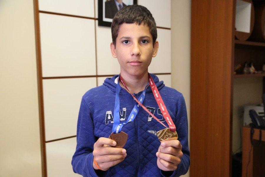 Estudante de Tocantinópolis foi o único tocantinense premiado com a medalha de ouro na Obmep 2018