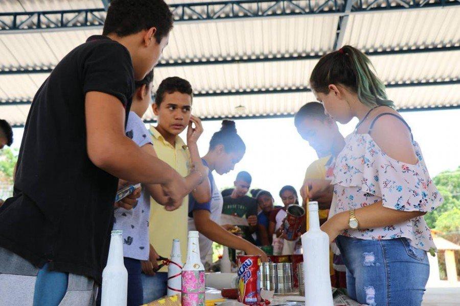 Programa chega a reta final de execução na região do Bico do Papagaio nesta quinta-feira (Foto: Lidiane Moreira)
