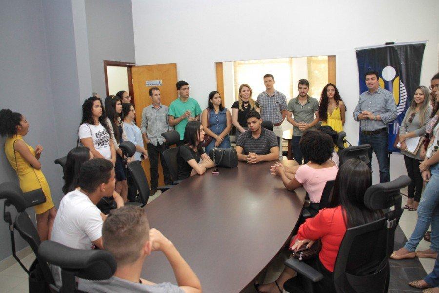 O reitor, professor Augusto Rezende, falando das lutas e conquistas da Unitins (Fotos: Nonato Silva/ Ascom Unitins)