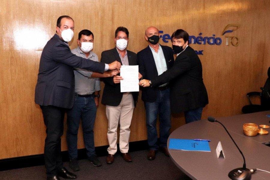 Parceria busca fortalecer comércio no estado com cessão de espaço para as entidades (Foto: Divulgação)