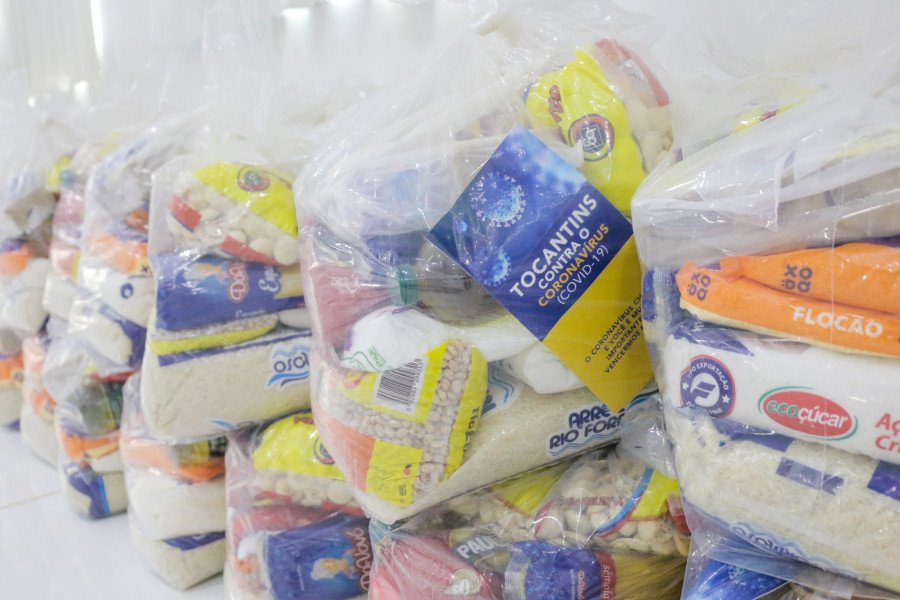 Kits de alimentos serão entregues no período de 14 a 18 de setembro (Foto: Carlessandro Souza)
