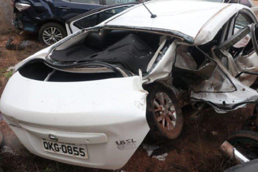Acidente aconteceu na TO-201, em Axixá do Tocantins (Foto: Voz do Bico/Divulgação)