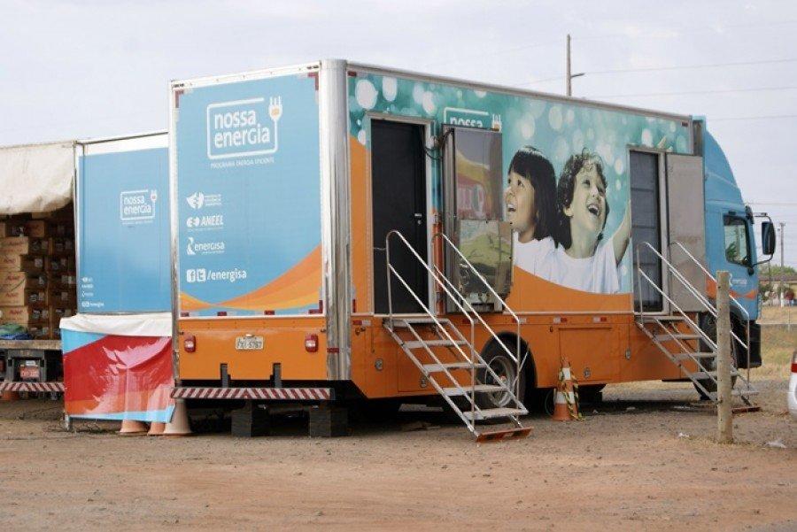 Caminhão do projeto Nossa Energia segue na estrada e esta semana está em Araguaína