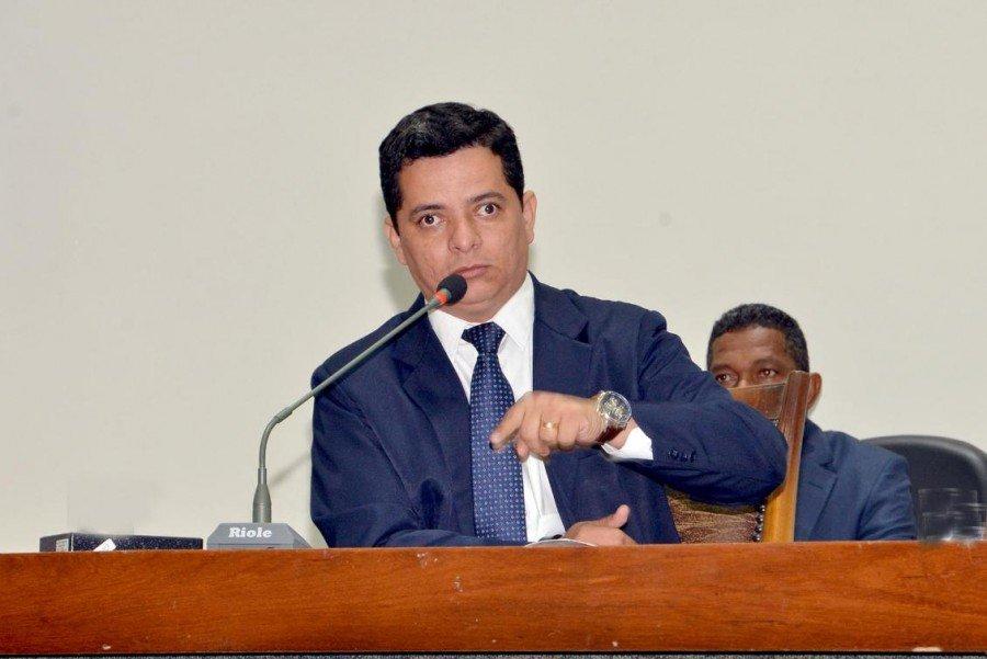 Jorge Frederico quer reforço da PM no Norte do Estado (Foto: Benhur de Sousa)