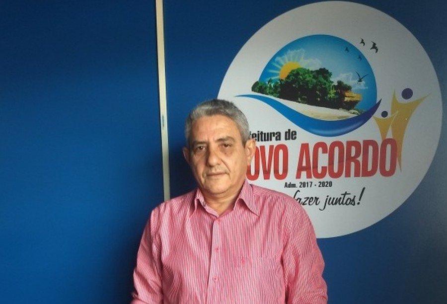 Elson Lino de Aguiar Filho é prefeito de Novo Acordo (Foto: Divulgação/Prefeitura de Novo Acordo)
