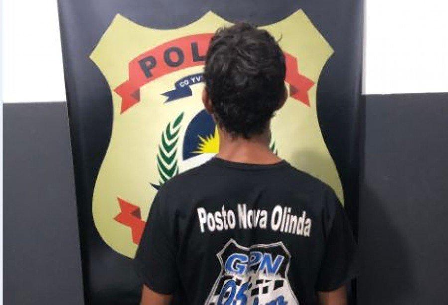 Indivíduo suspeito de praticar homicídio no Pará foi preso pela Polícia Civil do Tocantins em Nova Olinda
