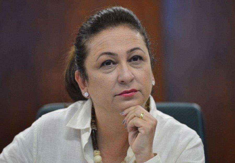 Senadora Kátia Abreu: delator nega que ela tenha feito favores à empreiteira (Antonio Cruz/Agência Brasil)