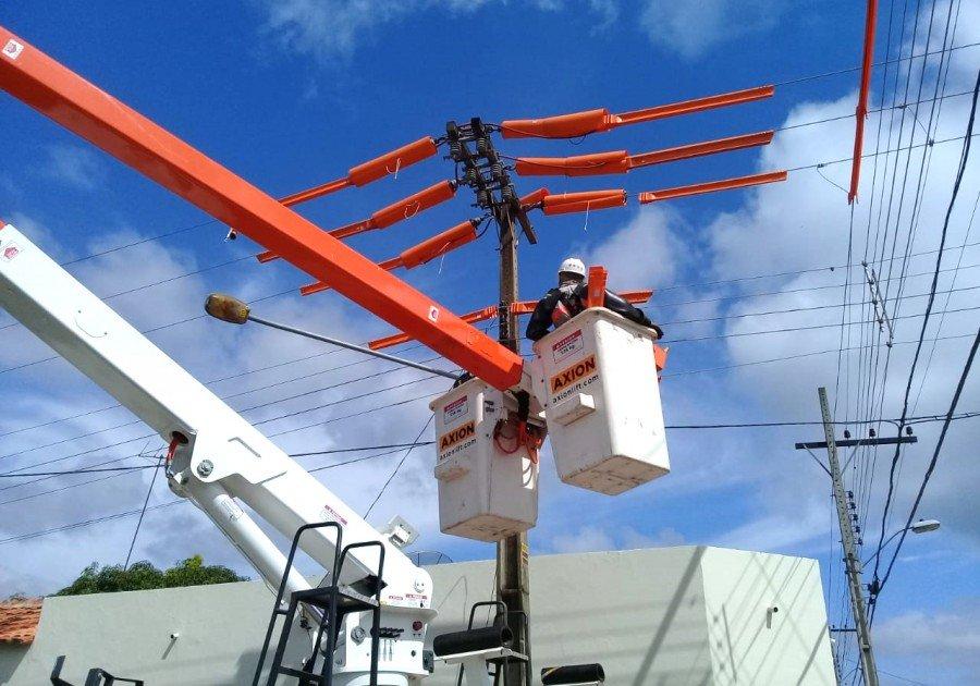 Obras de melhorias da Energisa seguem em Aguiarnópolis, Augustinópolis, Darcinópolis, Esperantina, Maurilândia do Tocantins, Palmeiras do Tocantins e em mais 16 municípios do estado