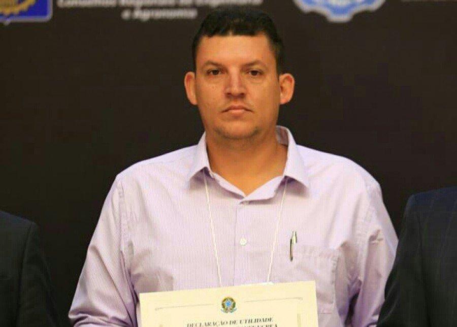 Elievan Marques dos Santos, engenheiro da Prefeitura