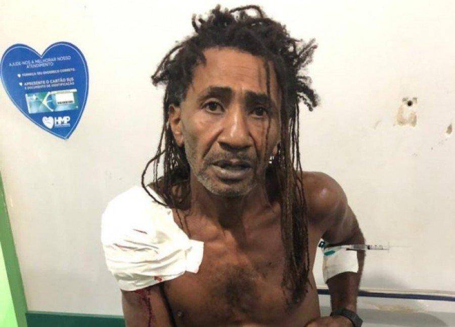 Emivaldo Costa foi preso em flagrante em um hospital de Parauapebas-PA, onde procurava atendimento médico