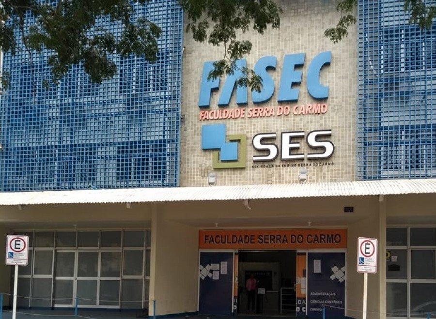 Abertas as inscrições para o processo seletivo 2018/2 da FASEC – Faculdade Serra do Carmo