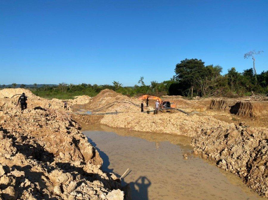 Polícia Federal fechou garimpos ilegais no sudeste do Pará (Foto: Polícia Federal)