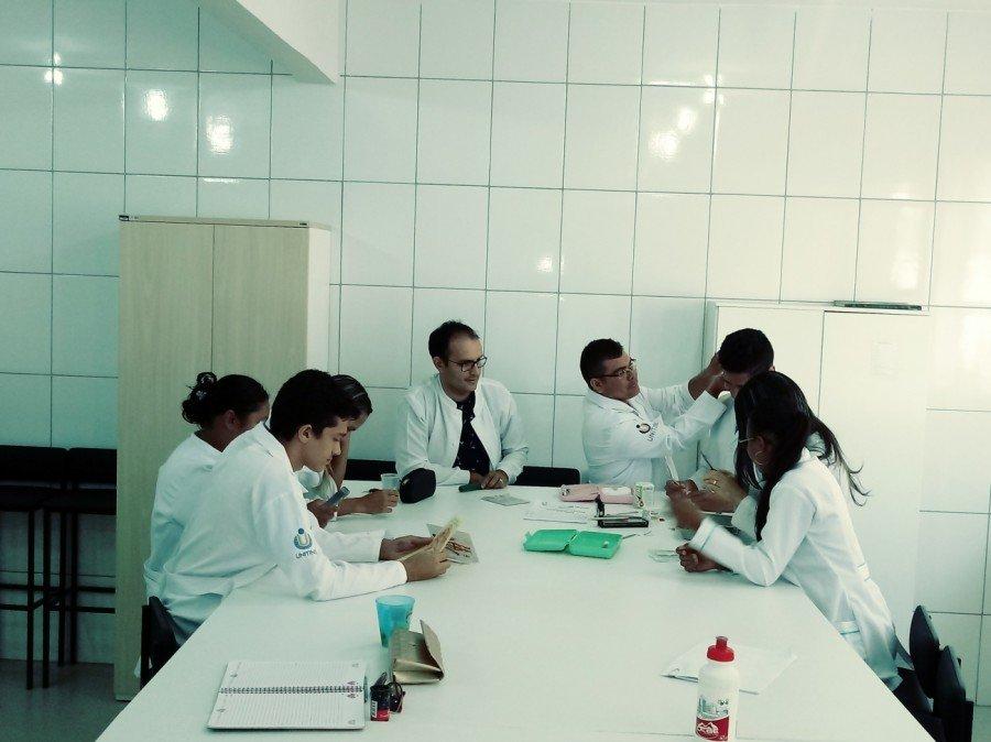 Acadêmicos e professores passam por capacitação sobre técnicas de acupuntura na cicatrização de lesões em acamados