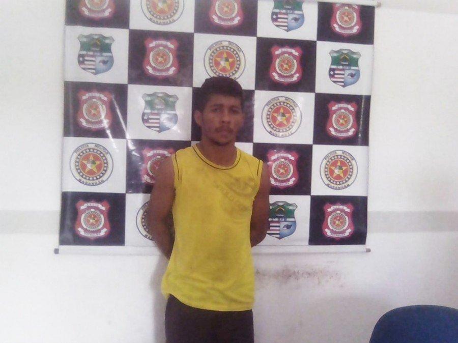 Francielson Gomes Pereira foi preso por ser suspeito de matar uma criança de nove meses no MA (Foto: Divulgação/Polícia Civil)