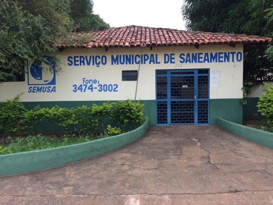 Serviço Municipal de Saneamento de Araguatins (SEMUSA) - Foto: Divulgação