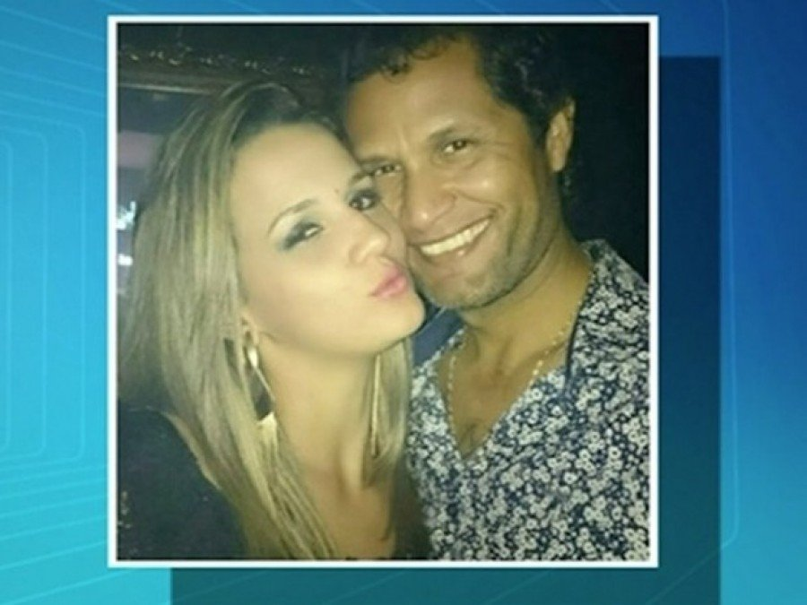Delegado Manoel Laeldo e Fernanda Julião foram condenados (Foto: Reprodução/TV Anhanguera)