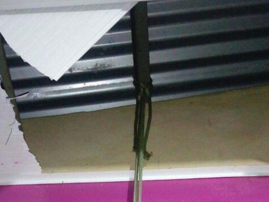 Cordas foram deixadas no mercado (Foto: Divulgação/Airton Araújo)