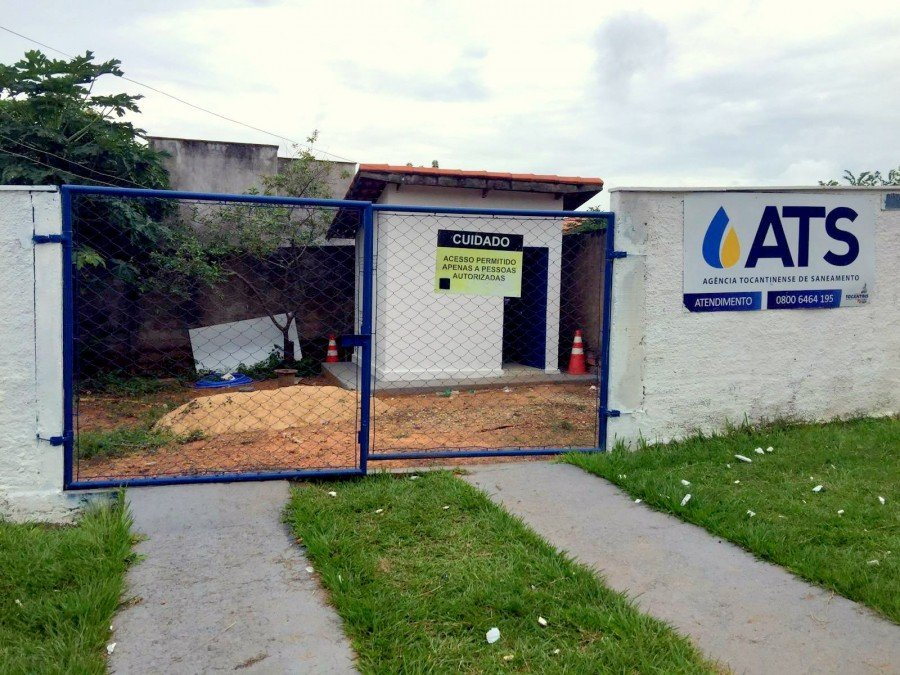 Estação de Tratamento de Água em Praia Norte (Foto: Ascom/ATS)