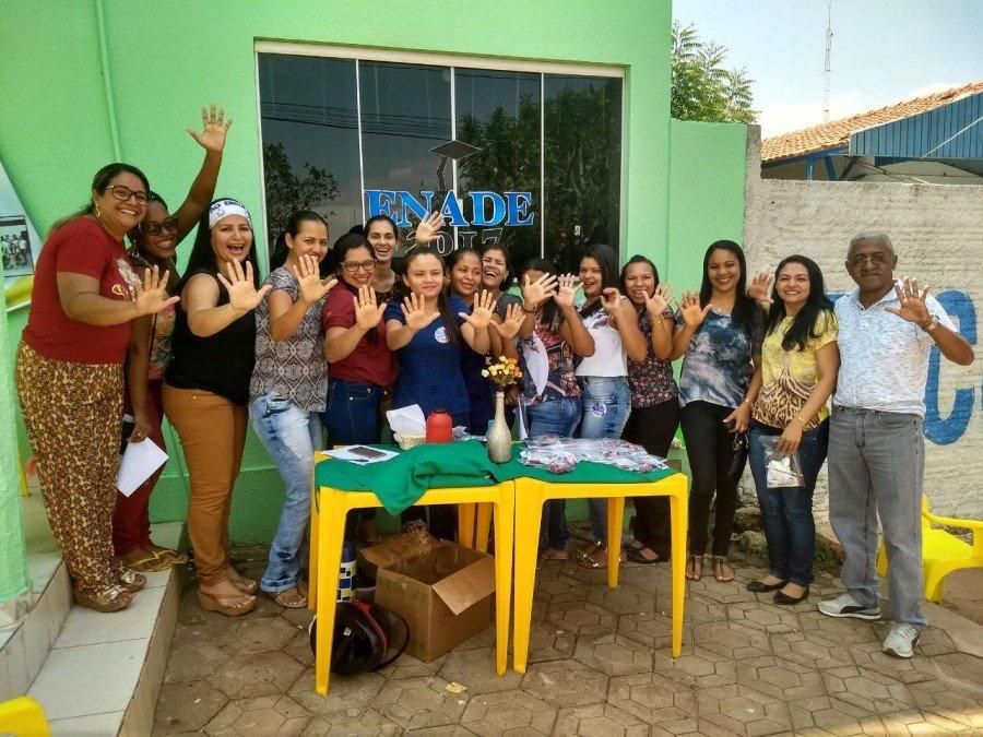 No Câmpus Araguatins houve 100% de presença dos acadêmicos convocados pelo Inep (Foto: Divulgação/Ascom Unitins)