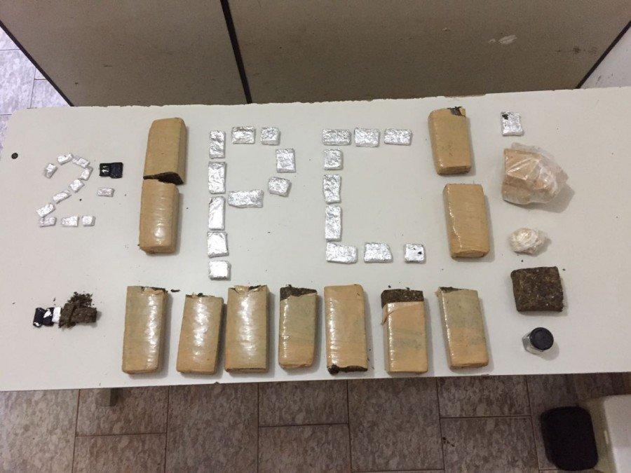 Drogas apreendidas pela Polícia Civil em Tocantinópolis