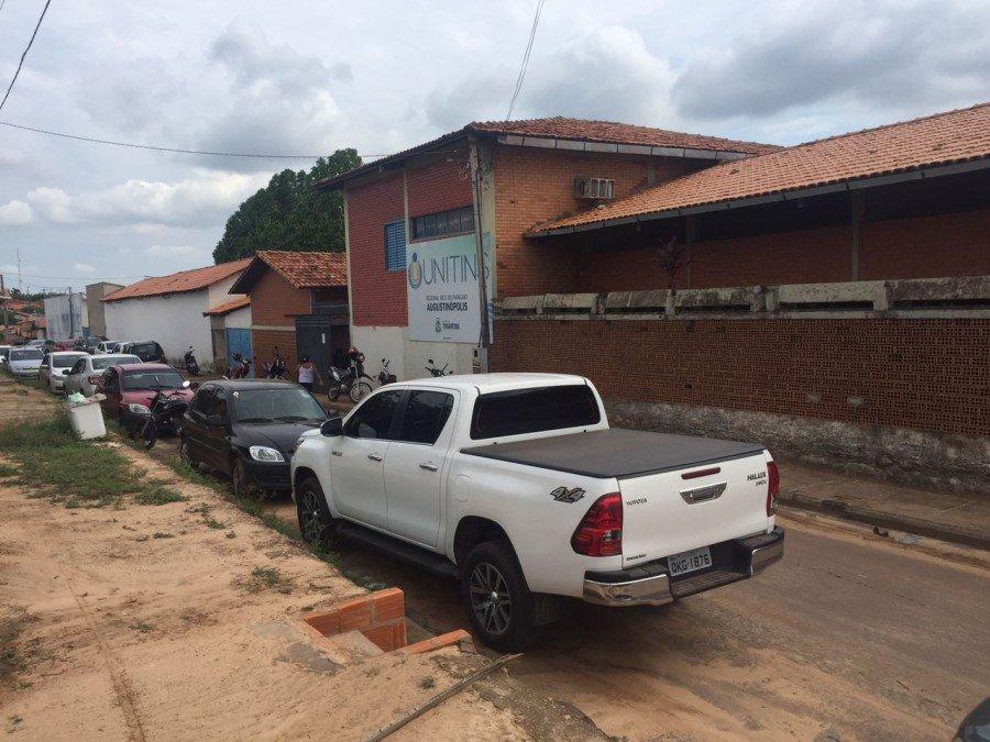 São ofertadas 129 vagas distribuídas no Câmpus Augustinópolis e Câmpus Palmas