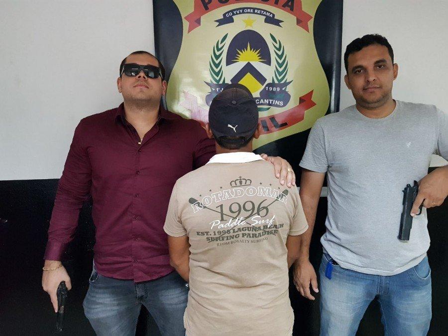 Suspeito de abusar sexualmente da própria enteada é preso pela Polícia Civil em Araguaína
