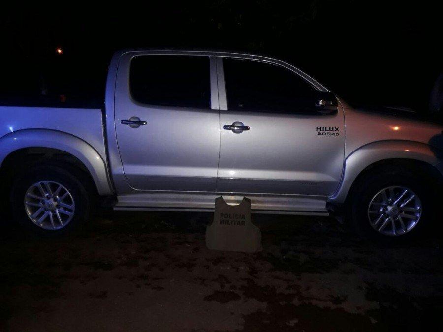 eículo recuperado pela PM em Gurupi  (Foto: Divulgação PMTO)