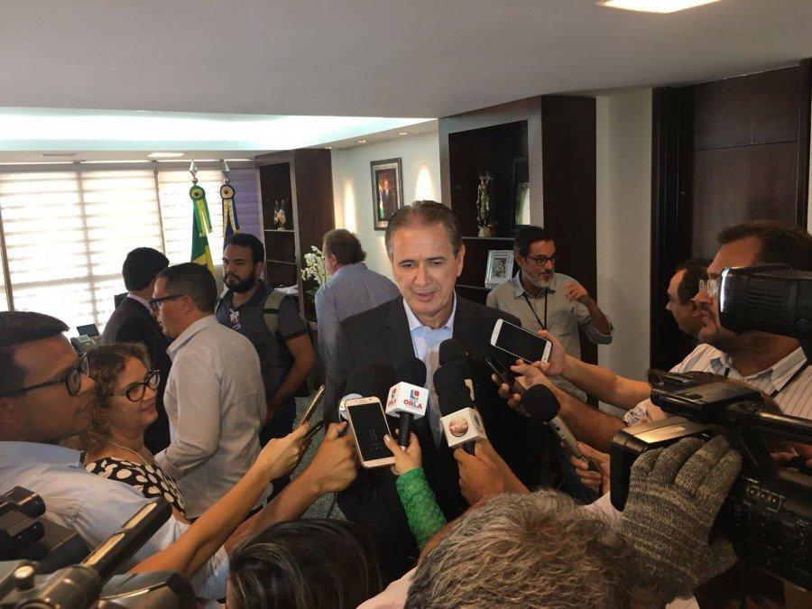 A assinatura do Protocolo ocorreu no fim da manhã desta quinta, 29, no gabinete do governador, no Palácio Araguaia