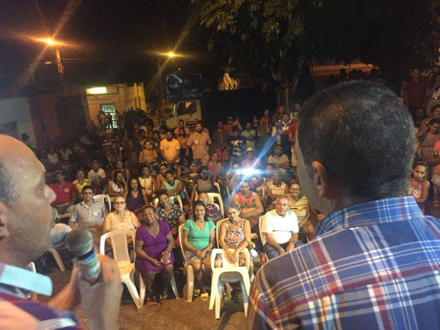 """Amastha reúne 350 pessoas em Nazaré e é chamado de """"referência como gestor"""" por lideranças políticas no Bico do Papagaio"""