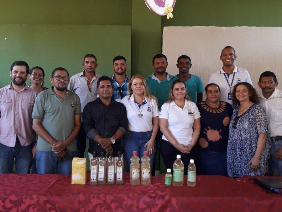 Participantes da oficina realizada na sede da Coome-Sol, em Xambioá