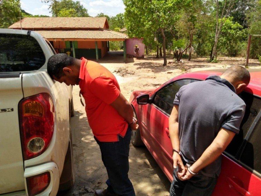 Suspeitos de roubar táxi no Maranhão foram presos em Araguaína