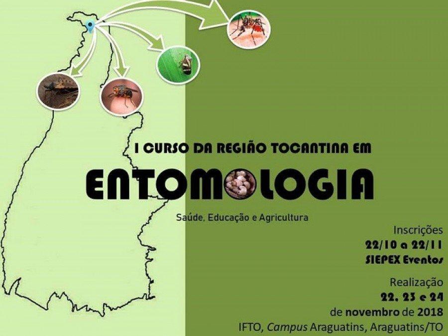 Evento será realizado nos dias 22, 23 e 24 de novembro, no Campus Araguatins, do Instituto Federal do Tocantins (IFTO)