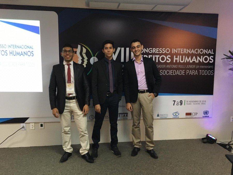Três trabalhos de acadêmicos da Unitins foram premiados no evento