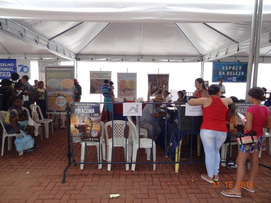 O Monaf, por meio do Naturatins participou neste fim de semana da Feira da Cidadania Tocantins - 2018