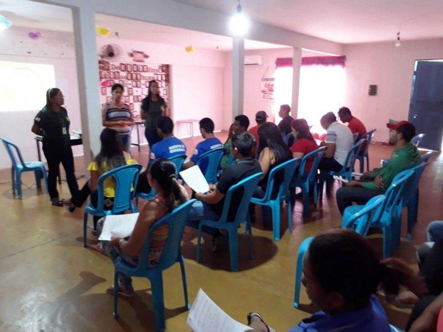 Moradores do PA Cupins receberam orientações sobre a preservação do meio ambiente
