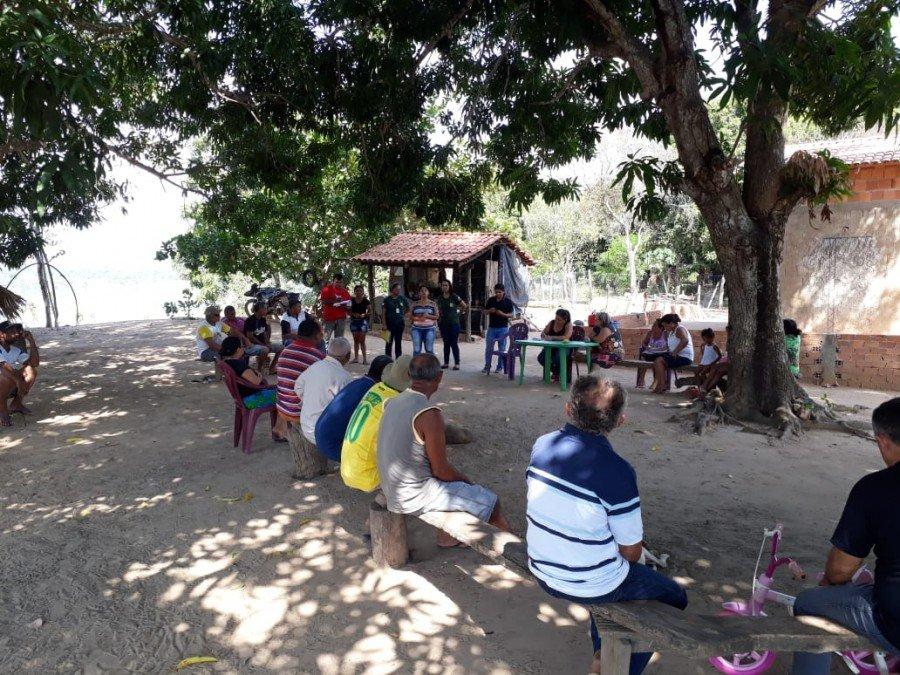 Moradores de Carrasco Bonito recebem ações de educação ambiental